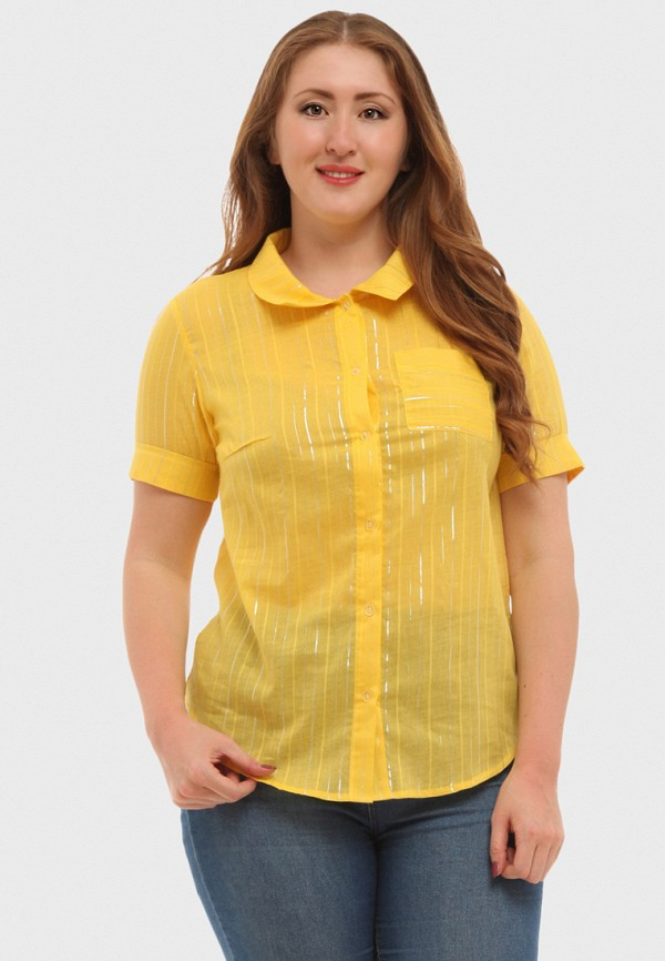 Купить Рубашка XLady, mp002xw16p0x, желтый, Весна-лето 2018