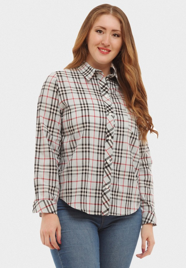 Купить Рубашка XLady, mp002xw16p14, серый, Весна-лето 2018