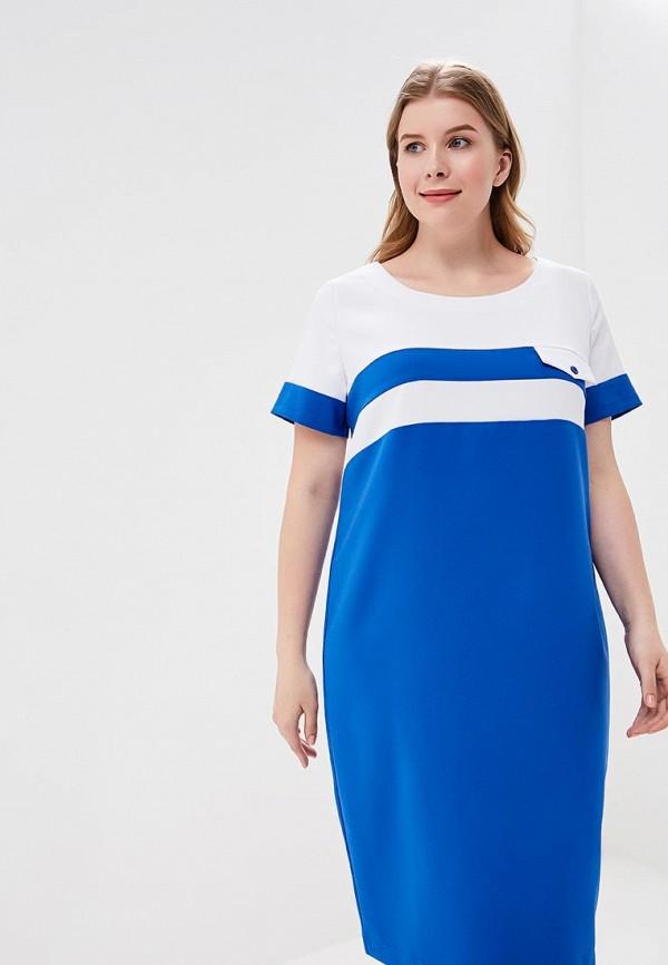 Купить Платье Balsako, Латте, mp002xw16p1i, синий, Весна-лето 2018