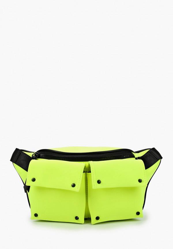 женская поясные сумка labbra, желтая