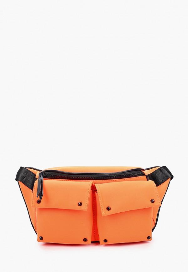 женская поясные сумка labbra, оранжевая