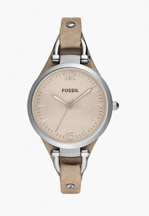 мужские часы fossil, бежевые
