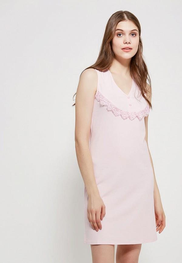 Купить Сорочка ночная Cleo, mp002xw16ztz, розовый, Весна-лето 2019