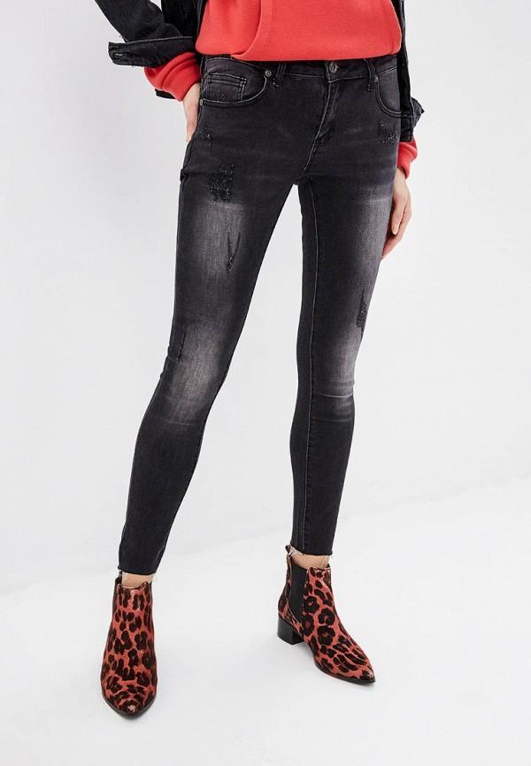 женские джинсы blue monkey, серые