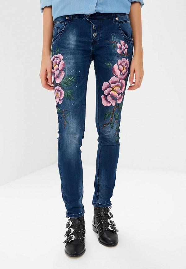 женские джинсы blue monkey, синие