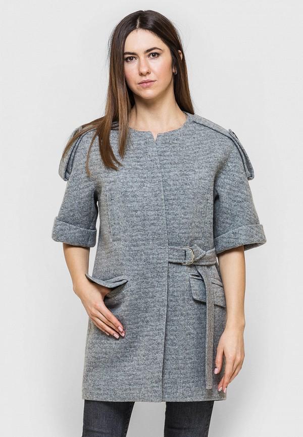 женское пальто victoria bloom, серое