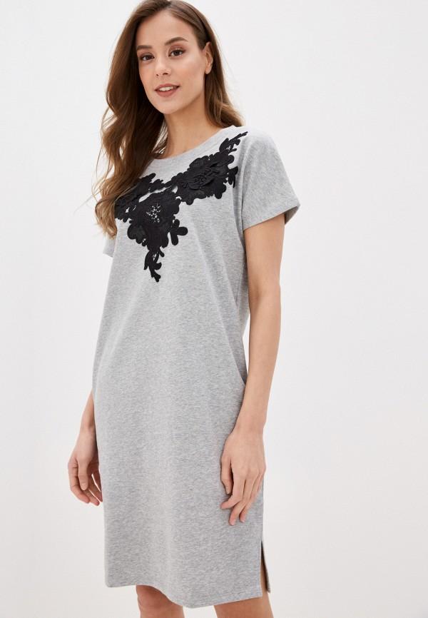 Платье домашнее Lelio Lelio MP002XW170ZM платье miata серый 48 размер