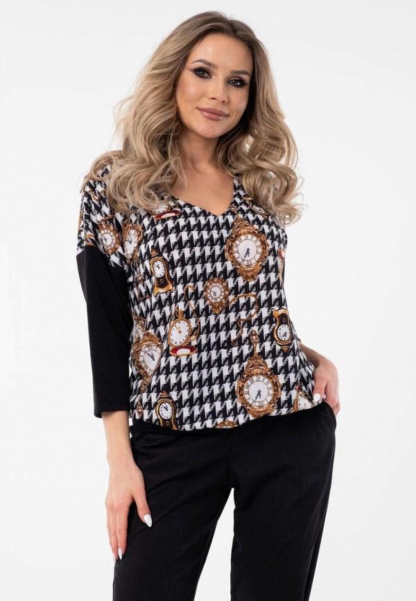 женская блузка wisell, черная