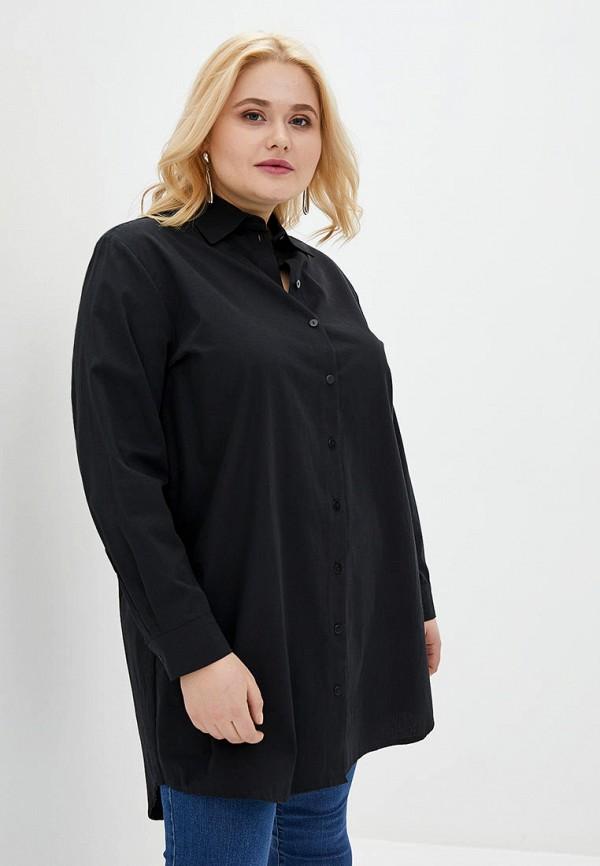 женская рубашка с длинным рукавом jhiva, черная