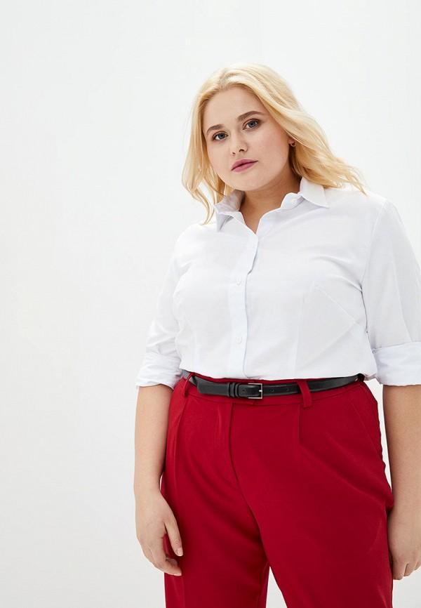 женская рубашка с длинным рукавом jhiva, белая