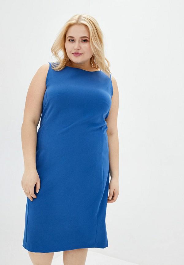 женское повседневные платье jhiva, голубое
