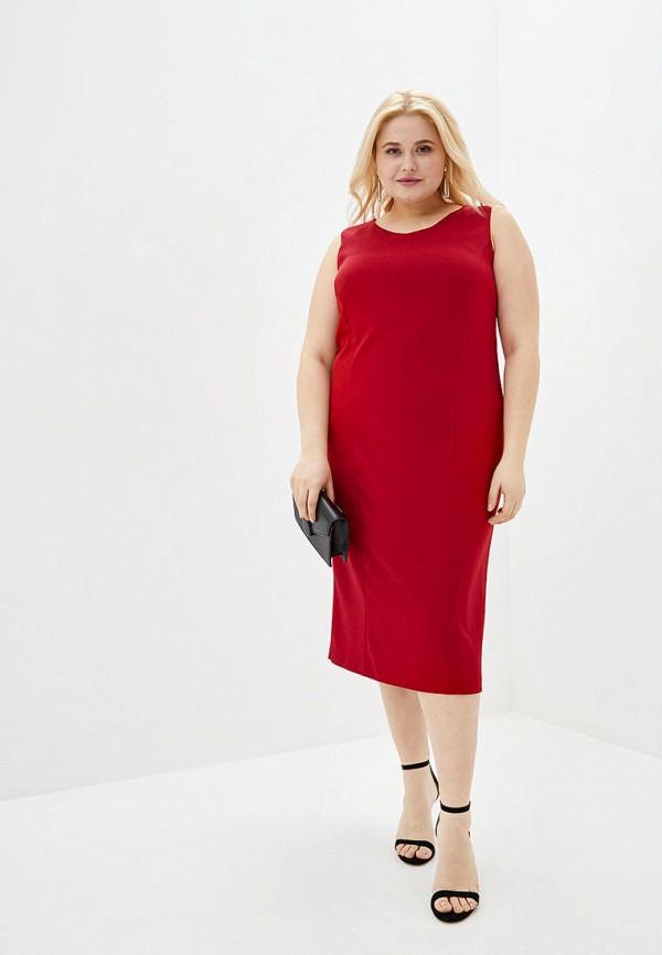 женское повседневные платье jhiva, красное