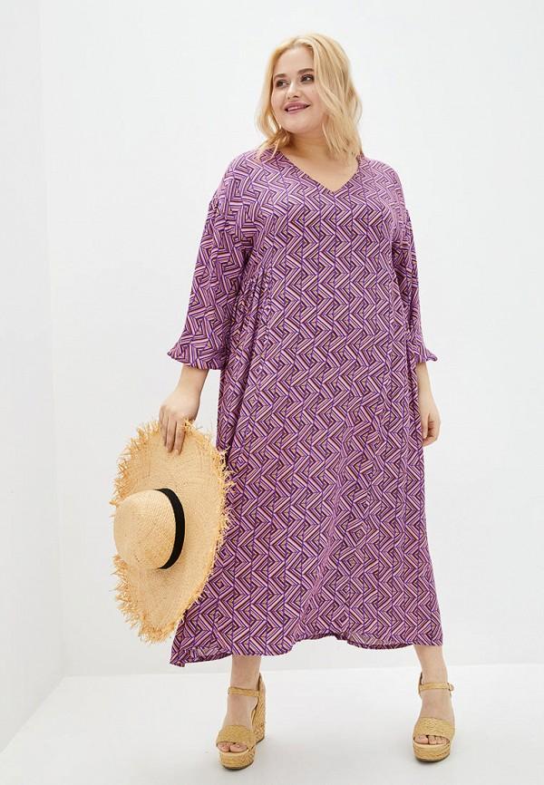 женское повседневные платье jhiva, фиолетовое