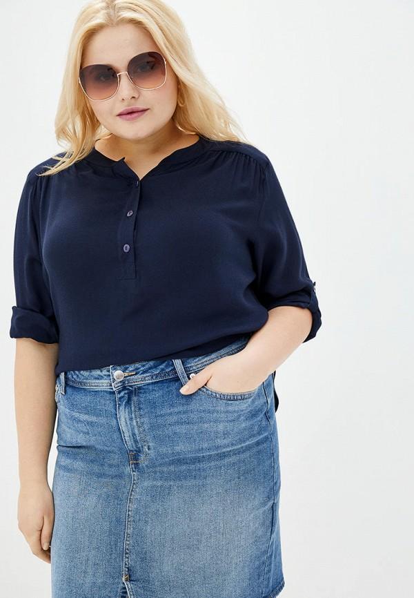 женская блузка jhiva, синяя