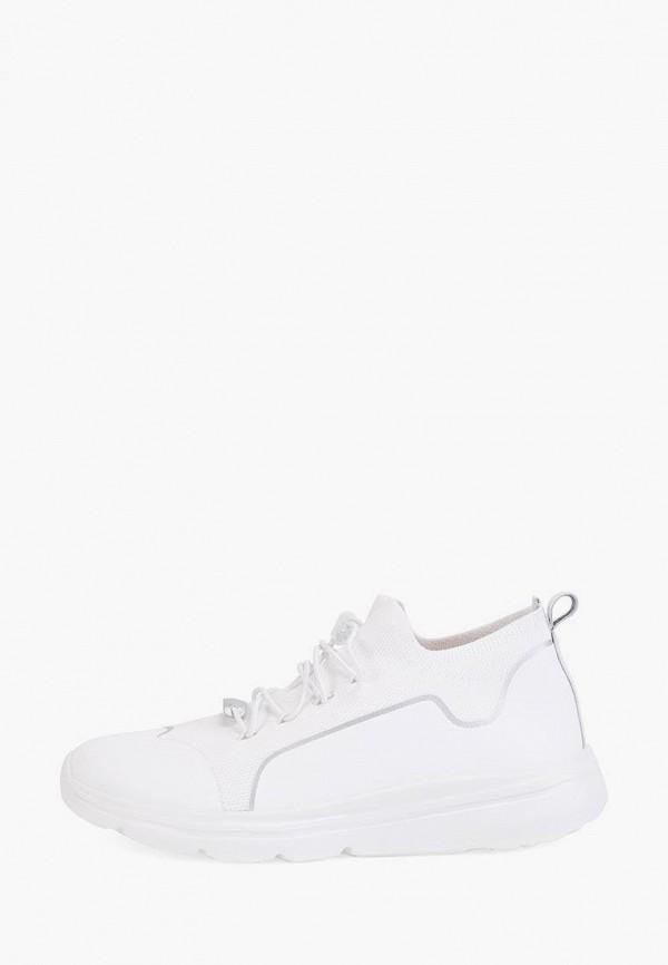 женские низкие кроссовки эконика, белые
