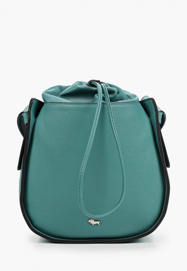 женская сумка через плечо labbra, бирюзовая