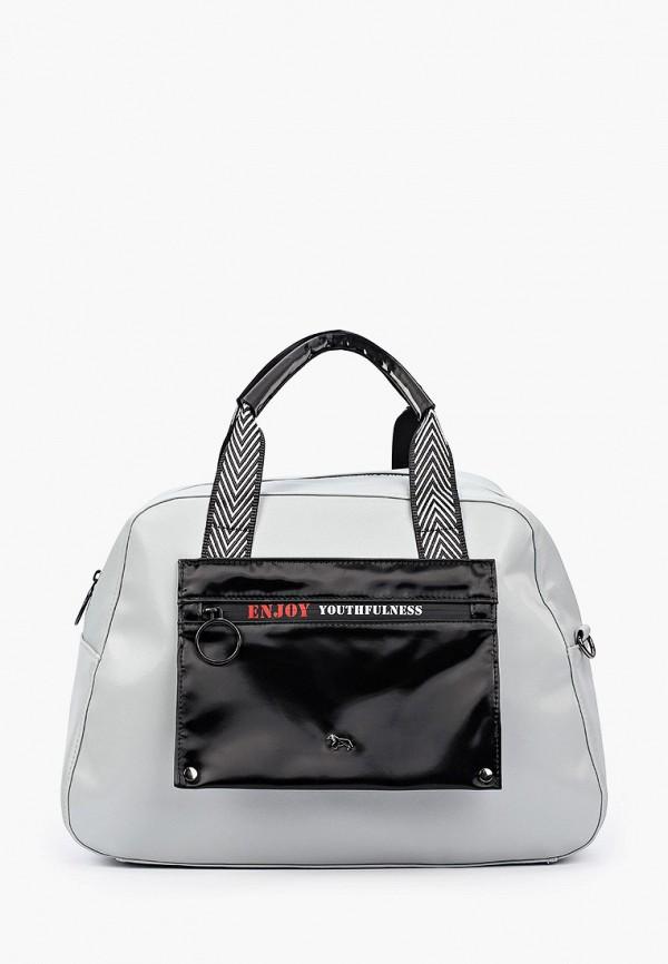 женская спортивные сумка labbra, серая