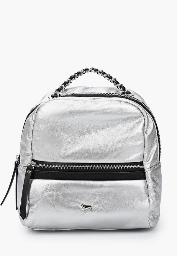 женский рюкзак labbra, серебряный