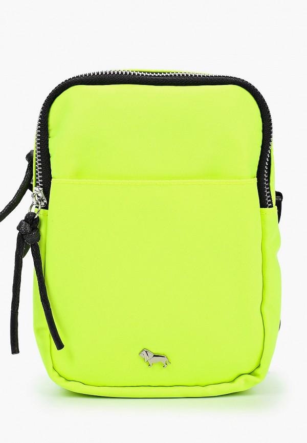женская сумка через плечо labbra, желтая