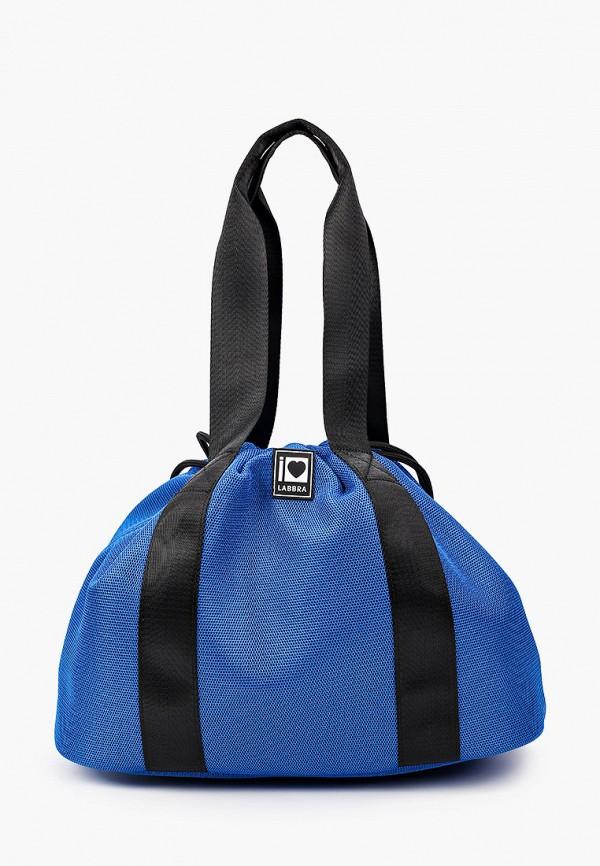 женская спортивные сумка labbra, синяя