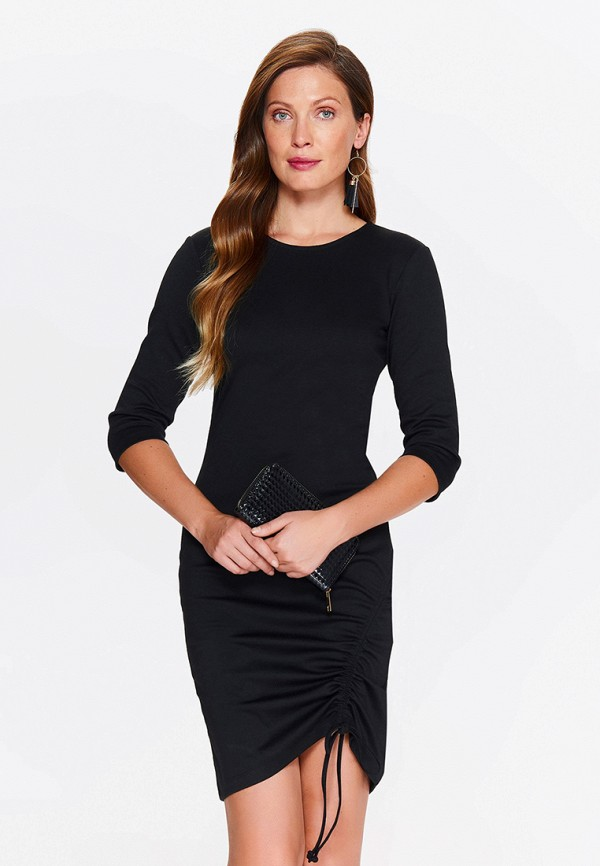 Платье Top Secret Top Secret MP002XW18MCM black choker sleeveless crop top