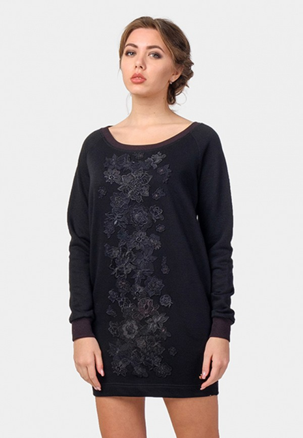 женское платье o&j, черное