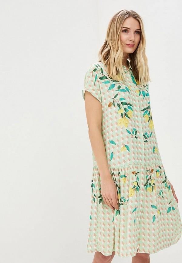 Купить Платье Akhmadullina Dreams, mp002xw18mhg, зеленый, Осень-зима 2018/2019