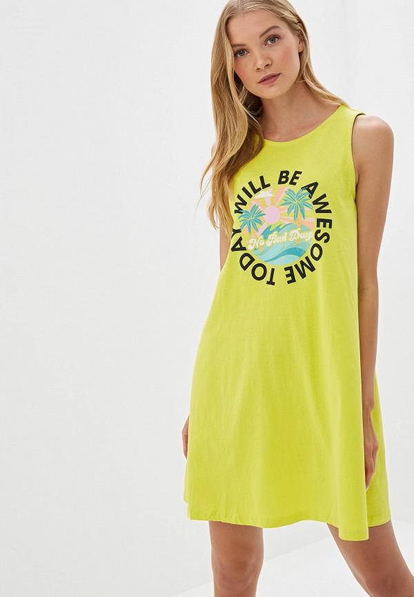 женское платье befree, желтое