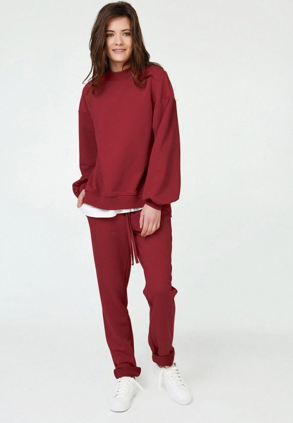 женский спортивные спортивный костюм fly, красный