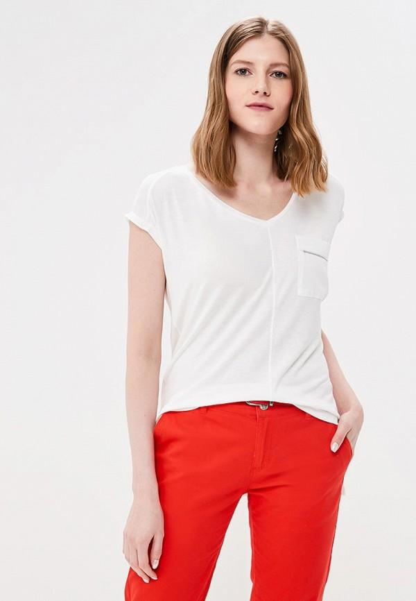 женская футболка с коротким рукавом top secret, белая
