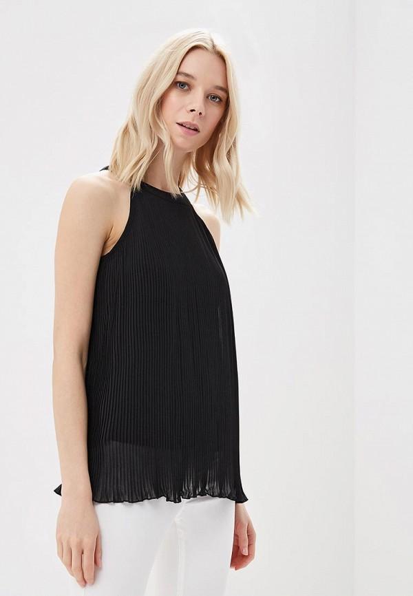 женская блузка top secret, черная