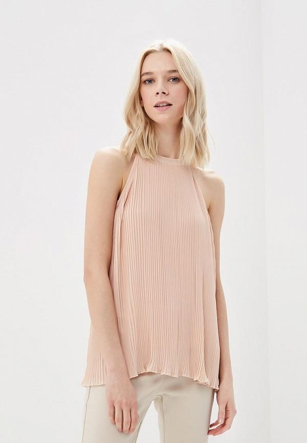 женская блузка top secret, розовая