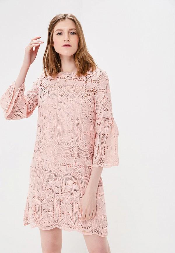 женское платье top secret, розовое