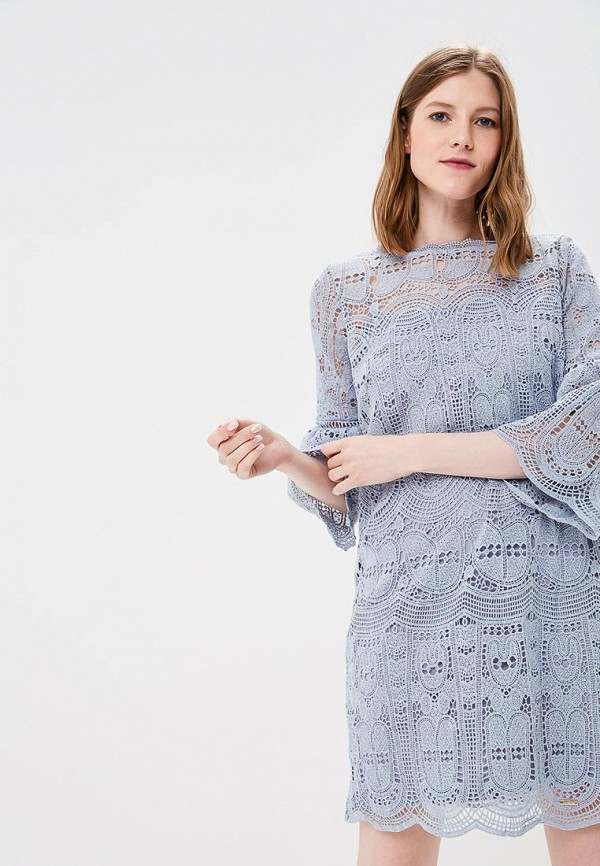 женское платье top secret, голубое