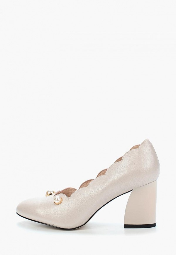 женские туфли berkonty, бежевые