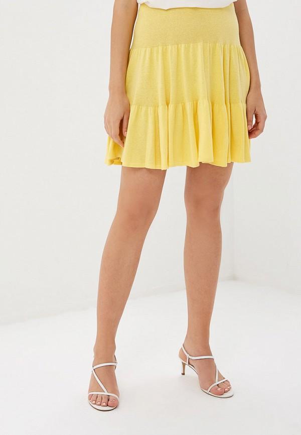 женская юбка marytes, желтая