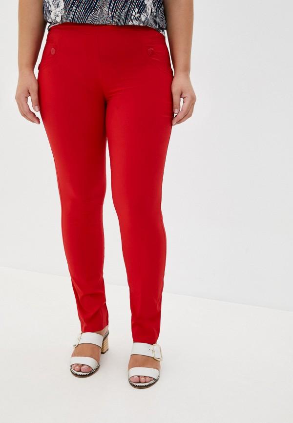 женские повседневные брюки полное счастье, красные