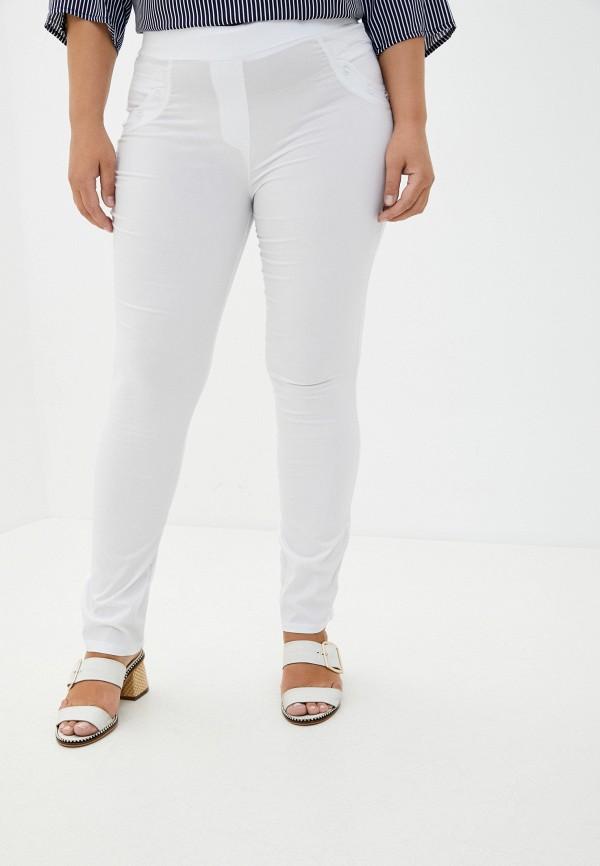 женские повседневные брюки полное счастье, белые