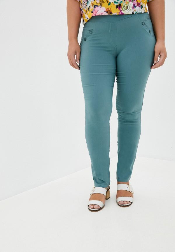 женские повседневные брюки полное счастье, зеленые