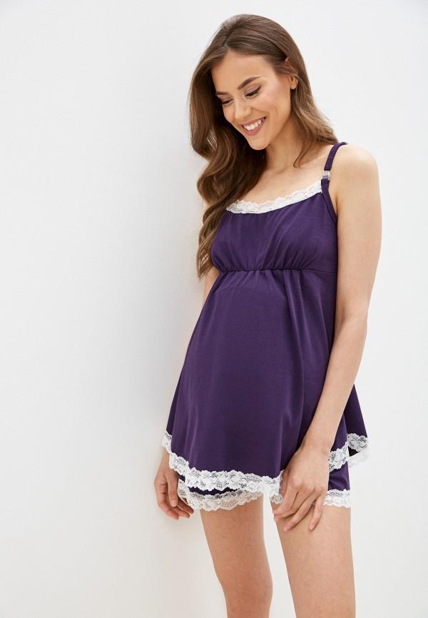 женские шорты fest, фиолетовые