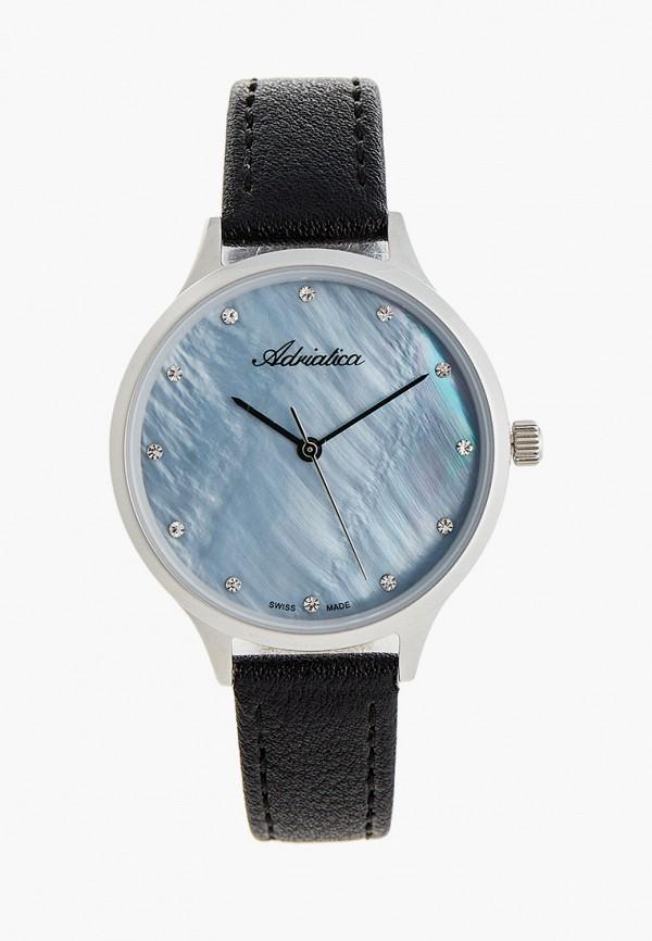 женские часы adriatica, голубые
