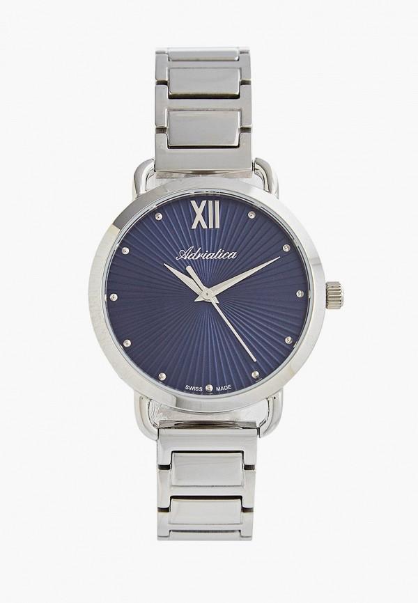 женские часы adriatica, синие