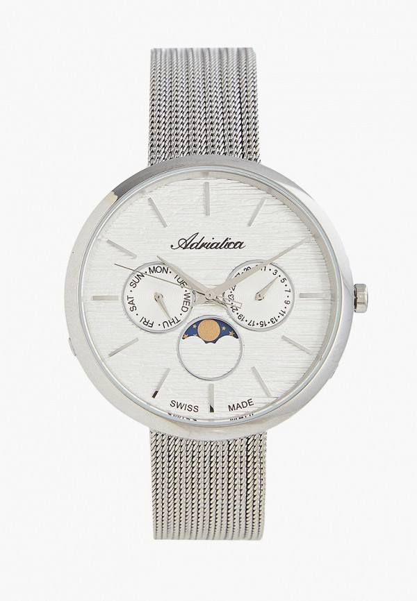 женские часы adriatica, серые