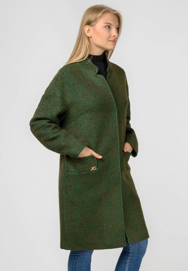 женское пальто raslov, хаки