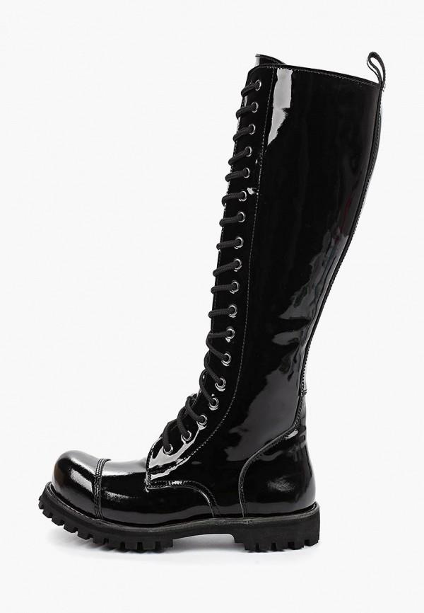 женские сапоги airbox, черные