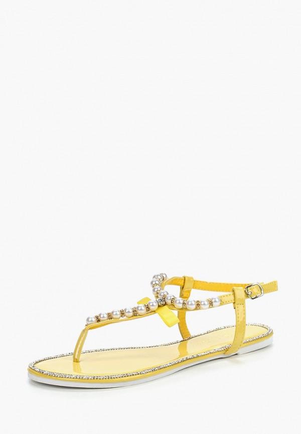 Сандалии Saivvila Saivvila MP002XW18TCV мода женщин сандалии flock party weddng обувь партии желтый цвет сандалии плюс размер a012 77