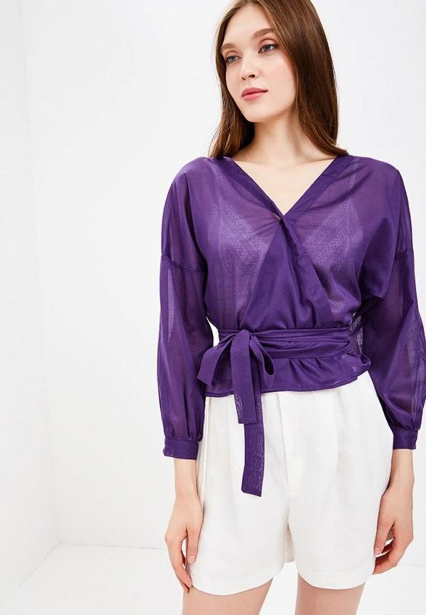 Фото - Женскую блузку Indreams фиолетового цвета