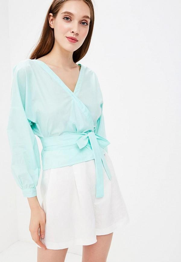 Фото - Женскую блузку Indreams бирюзового цвета