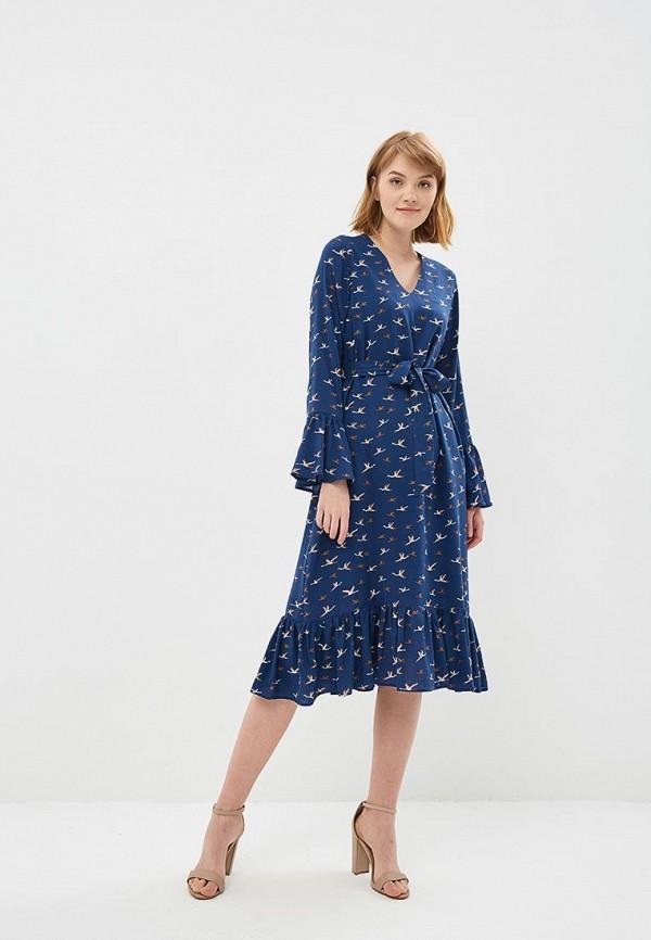 Купить Платье Fashion.Love.Story, mp002xw18tm8, синий, Весна-лето 2018