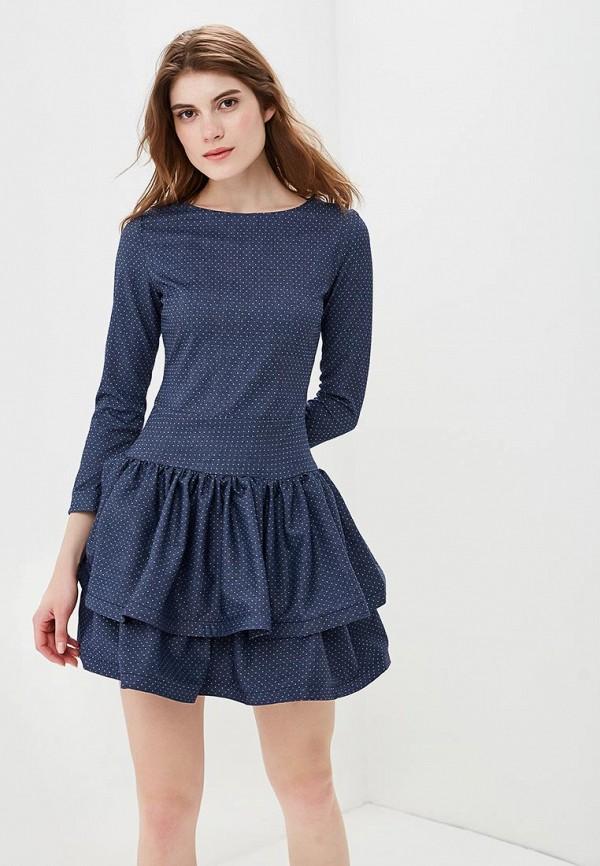 женское вечерние платье bezko, синее